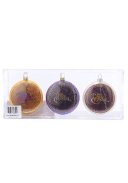 The Dark Crystal Christmas Disk Ornament 3-Pack