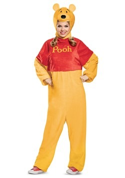 Winnie the Pooh Deluxe Adult Costume Alt 5