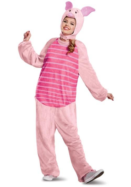 Piglet Deluxe Adult Costume Alt 3