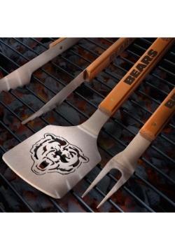 Chicago Bears Sportula 3-Piece BBQ Set
