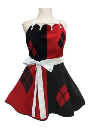 Womens Harley Quinn Fashion Apron