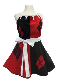 Womens Harley Quinn Fashion Apron