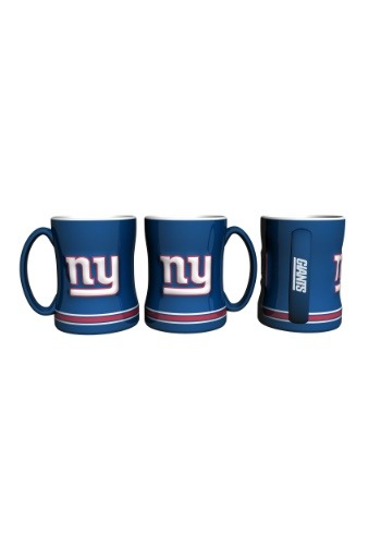 14oz New York Giants Sculpted Relief Mug