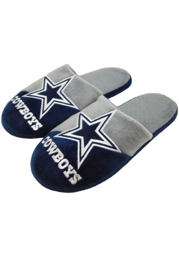 NFL Dallas Cowboys Colorblock Slide Slipper