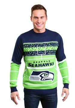 Seattle Seahawks Stadium Light Up Sweater