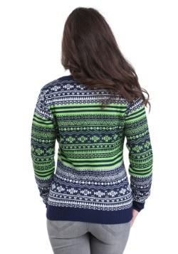 Seattle Seahawks Big Logo Aztec Sweater