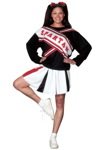 Women's Spartan Cheerleader Costume