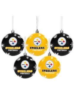 Pittsburgh Steelers Ornament Set