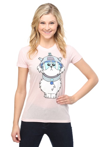 Rick And Morty Snuffles Juniors Tee