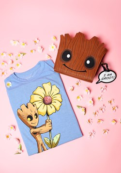 Guardians Of The Galaxy 2 Flower Groot Juniors Tee