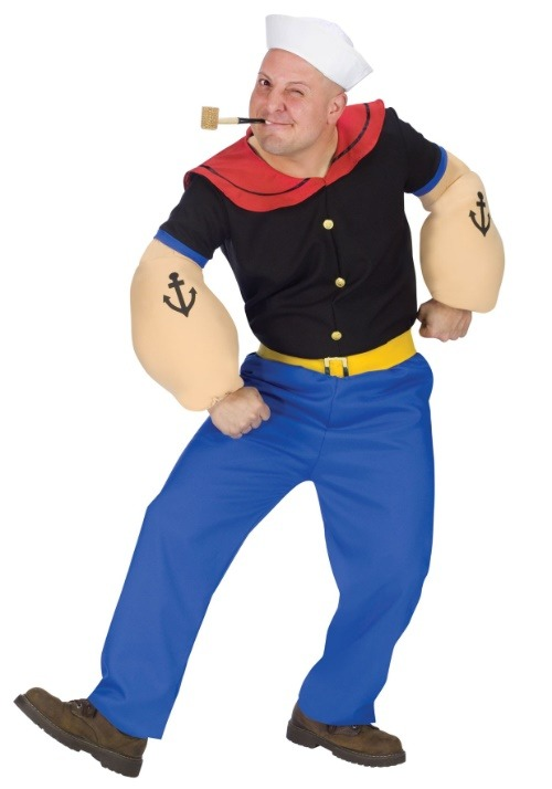 Popeye the Sailorman Costume