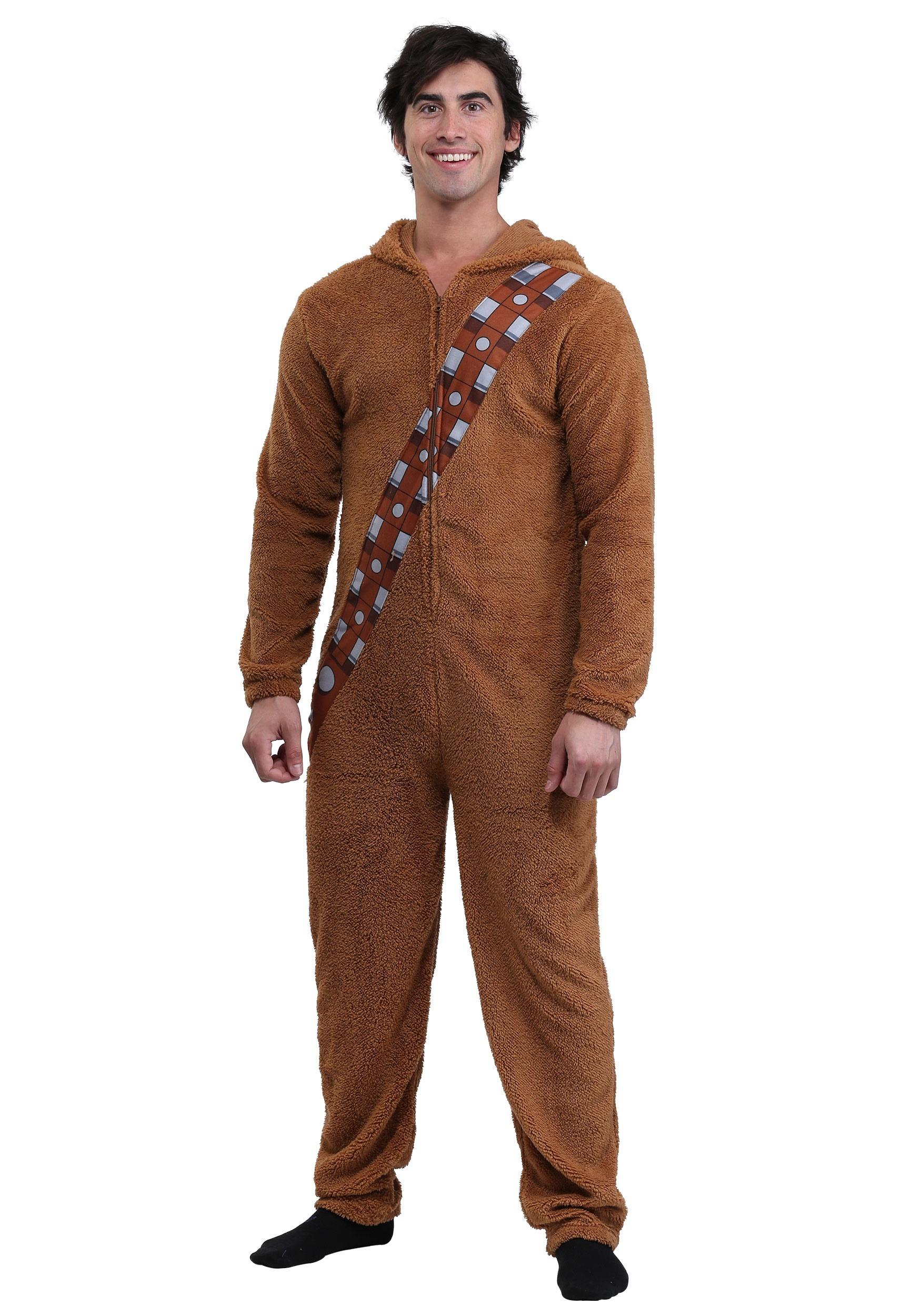 510ce26b5d Star Wars Chewbacca Adult Onesie