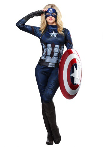 Captain America Girls Costume