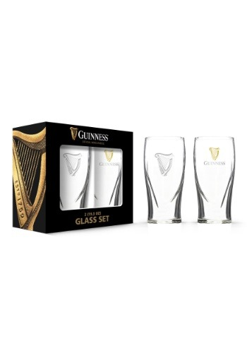 Guinness Boxed 20 oz Gravity Glass 2 Pack