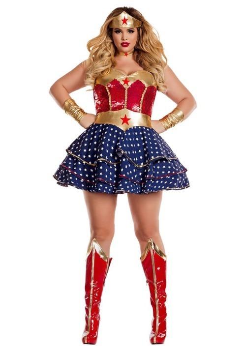 Wonderful Sweetheart Women's Plus Size Costume