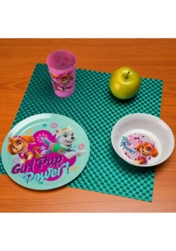 Paw Patrol Skye 3 Pc Dinnerware Set