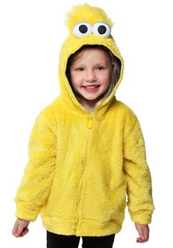 Sesame Street Big Bird Faux Fur Kids Costume Hoodie