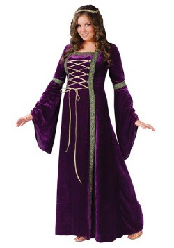 Renaissance Lady Plus Size Costume