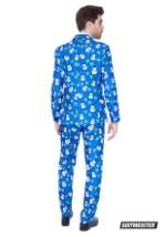 Men's Blue Snowman Suitmiester