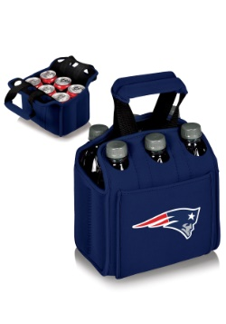 NFL New England Patriots Six-Pack Beverage Carrier