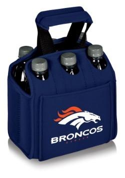 NFL Denver Broncos Six-Pack Beverage Carrier