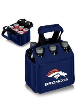 NFL Denver Broncos Six-Pack Beverage Carrier