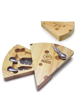 Green Bay Packers Swiss Cheese Board & Tools Set