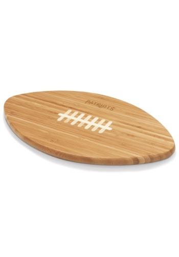 New England Patriots 'Touchdown!' Football Cutting Board