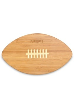 New England Patriots 'Touchdown!' Football Cutting Board