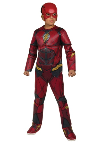 Boys Justice League Deluxe Flash Costume