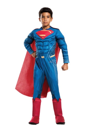 Boys Justice League Deluxe Superman Costume
