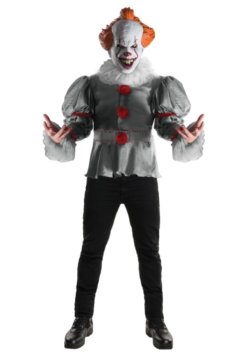 Adult Deluxe IT Clown Movie Costume