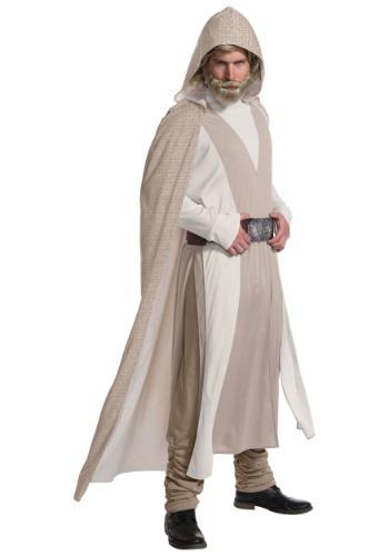 Star Wars The Last Jedi Deluxe Luke Skywalker Mens Costume