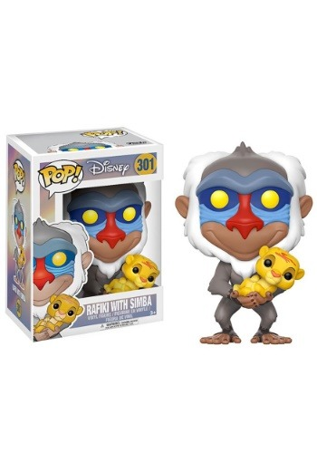 Pop! Disney: Lion King- Rafiki holding baby Simba