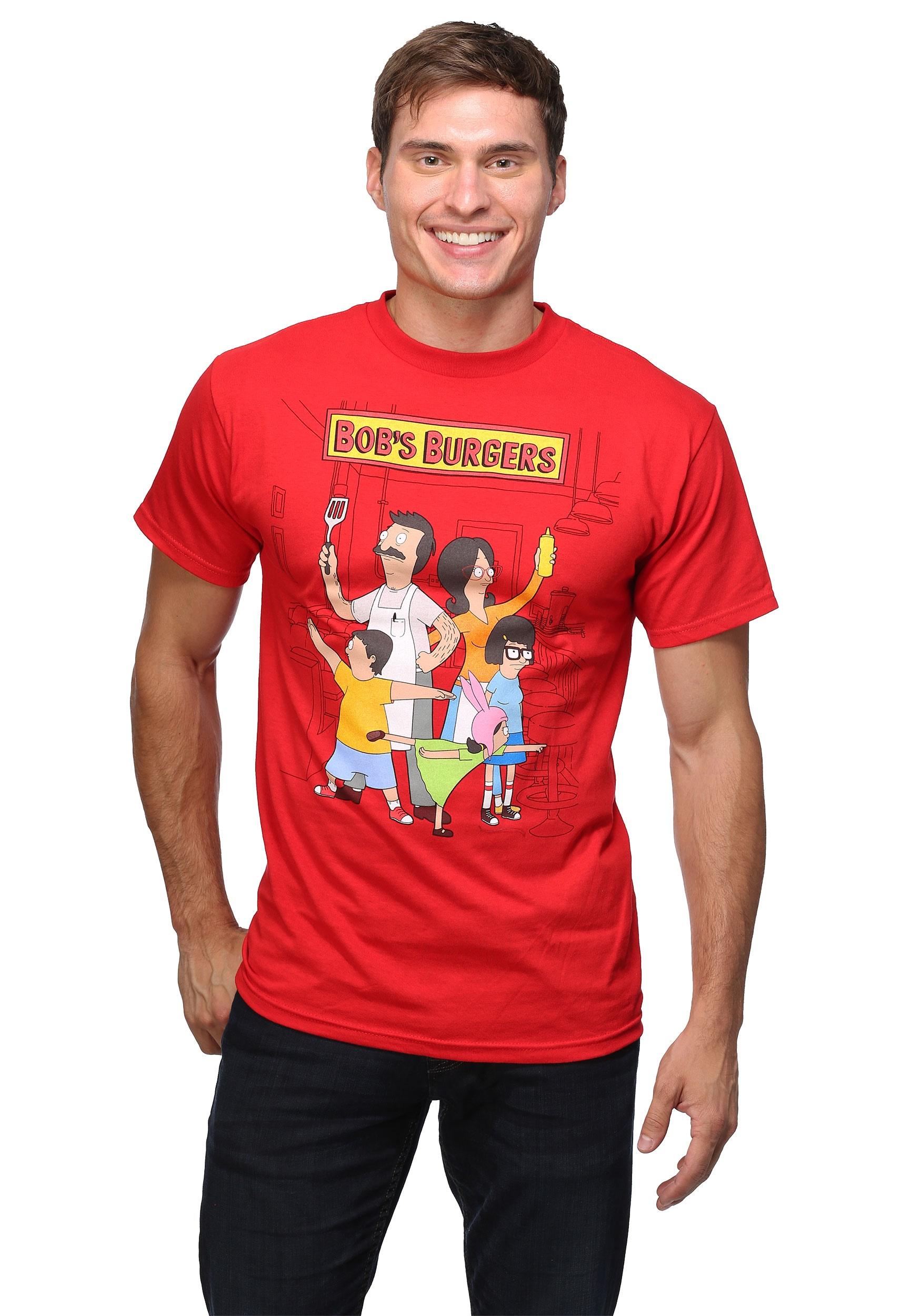 228a7b597 Bob's Burgers Family Portrait 18/1 T-Shirt