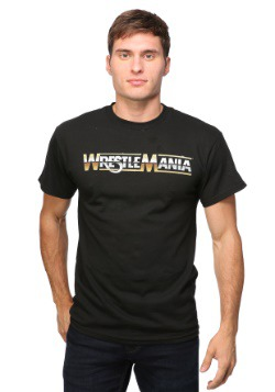 WWE WrestleMania Logo 30/1 Men's T-Shirt