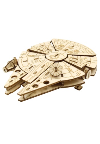 Star Wars Millennium Falcon 3D Wood Model & Booklet