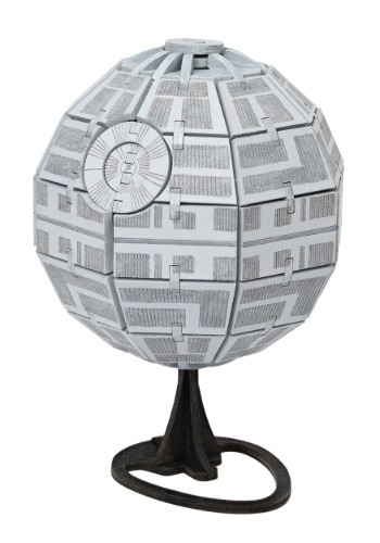 Star Wars Death Star 3D Wood Model & Booklet