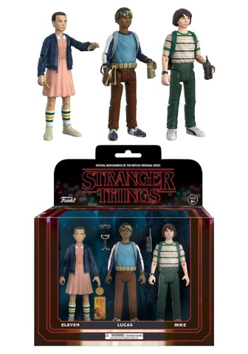 Action Figure: Stranger Things 3 pack (Eleven, Luc