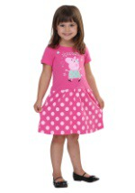 Peppa Pig Polka Dot Party Short Sleeve Dress