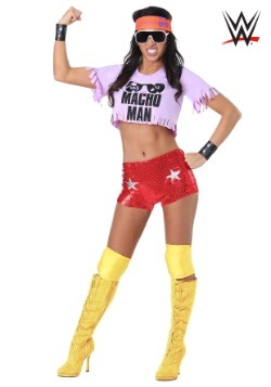 Women's Macho Man Madness Costume