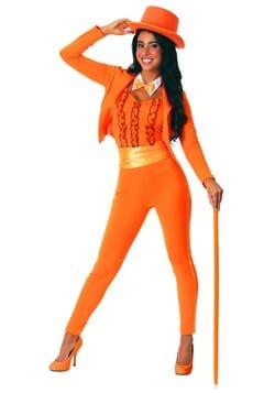 Adult Female Orange Tuxedo