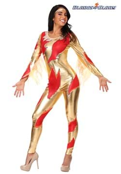 Women's Blades of Glory Fire Jumpsuit Costume