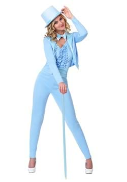 Women's Blue Tuxedo Costume
