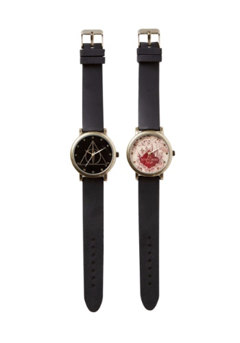 Harry Potter Marauder Map and Deathly Hallow Watch