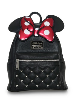 Minnie Mouse Faux Leather Mini Backpack