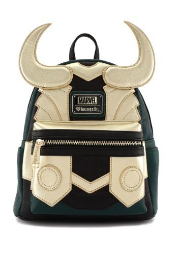 Avengers Loki Faux Leather Mini Loungefly Backpack