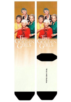 Golden Girls Group Shot Sublimated Socks