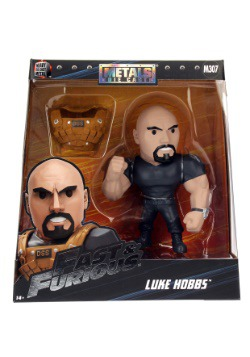 "Fast & the Furious Luke Hobbs 6"" Metal Figure"