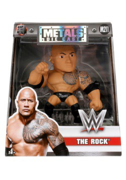 "WWE The Rock 4"" Metal Figure"